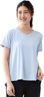 トップス Tシャツ カットソー Aライン フレア スポーツ アウトドア UVカット 速乾 速乾ドライ レディース ジム Honeys ハニーズ ドライAラインTシャツ 5850135333