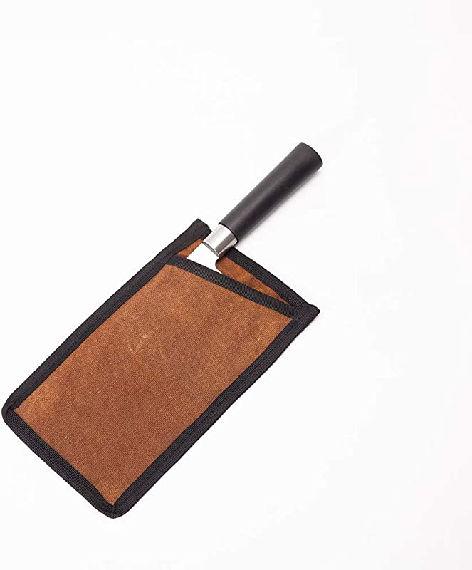 Durable Cleaver Edge Guard 16OZ Waxed Canvas Knife Covers Heavy Duty Wide Knives Meat Cleaver And Chopper Blade Protectors Butcher Chef Knife Covers Fits Blades Up To 7 8 Long And 3 9 Wide