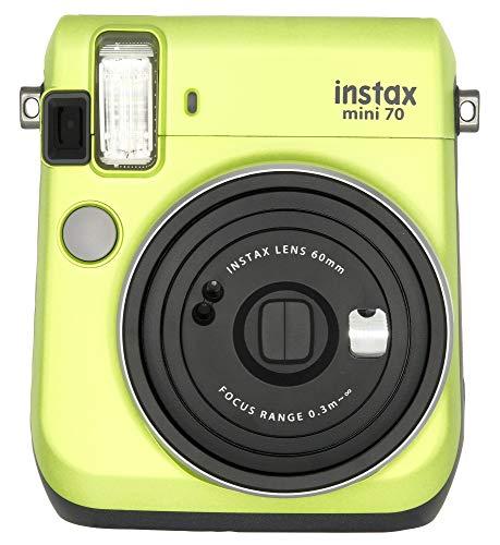 Fujifilm Instax Mini 70 - Instant Film Camera Blue (Certified Refurbished)(Renewed)