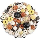 Hamiledyi - Filtro de bolas biológicas para acuario o estanque, anillos de cerámica para filtración, 500 g de bolas biológicas