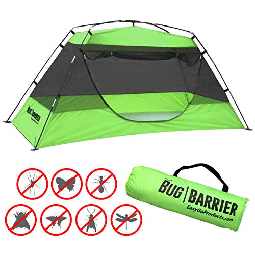EasyGoProducts Bug Barrier Mosquito Bug Tent with Pop Up Mosquito Net Canopy, Green (EGP-TENT-008)