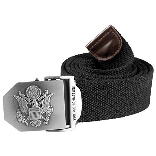 Helikon Armée ceinture Noir Taille L (130cm)