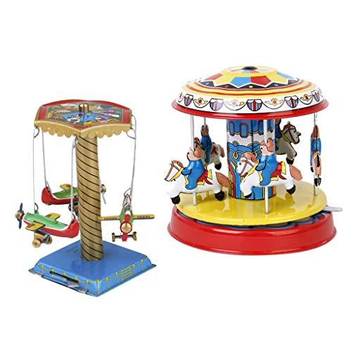carrusel de juguete antiguo