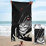 HELLSING Handtuch, schnelltrocknend, Strandtuch, Mikrofaser, Badetücher, saugfähig, sandfrei, Surf-Pool, Schwimmhandtücher, Größe Name