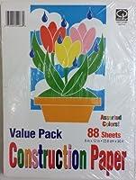 Carolina Pad Construction Paper Value Pack [並行輸入品]