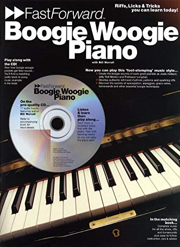 Piano or Keyboard-Fast Forward: Boogie Woogie Piano-Klavier-BOOK+CD