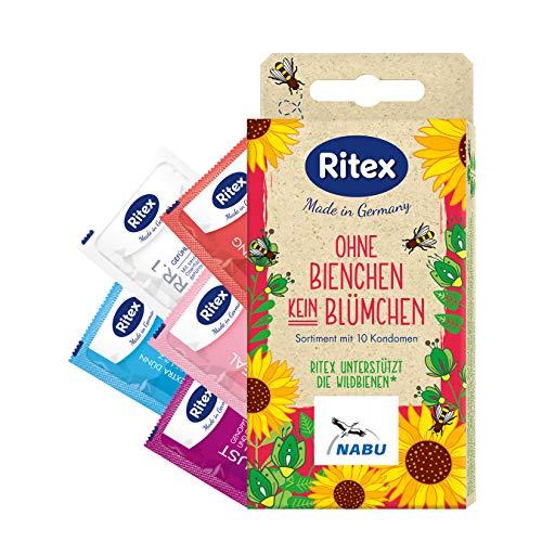 Ritex Ohne Bienchen Kein Blümchen Kondome, 10 Stück