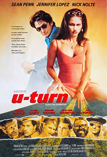 U-Turn - Kein Weg zurück (1997) | original US Filmplakat, Poster [ca 68x101cm]