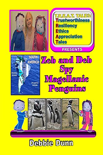 Zeb and Deb Spy Magellanic Penguins by Debbie Dunn