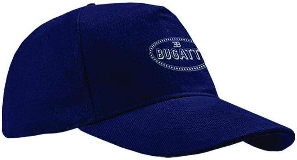 Sacramento Mall BUGATTI Reflective Baseball All items free shipping Blue Hat