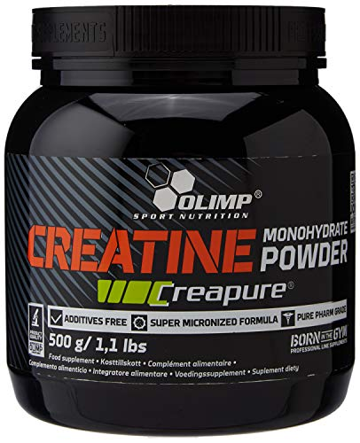 OLIMP SPORT NUTRITION Creatine Creapure Monohydrate 500 g - (Packaging may vary)