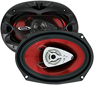 BOSS Audio Systems CH6920 Car Speakers - 350 Watts of Power Per Pair and 175 Watts Each, 6 x 9 Inch, Full Range, 2 Way, Sold in Pairs, Easy Mounting