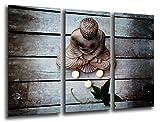 Cuadro Fotográfico Buda, Buddha, Relajacion, Relax, Zen Tamaño total: 97 x 62 cm...