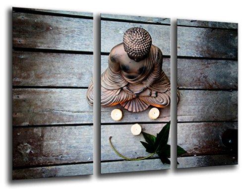 Cuadro Fotográfico Buda, Buddha, Relajacion, Relax, Zen Tamaño total: 97 x 62 cm XXL