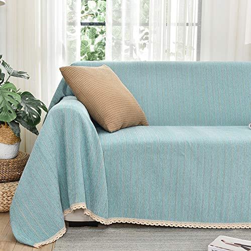 Raupe Dekorative Sofa Sofabezüge,Drucken Sofa Couch-Abdeckung,Haustierschutz Für Wohnzimmer Loveseat Stuhl Universal,Mit Handgefertigter Spitze Edge-B 180x240cm(71x94inch)