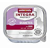 animonda Integra Protect Diabetes mit Rind | 16x 100g