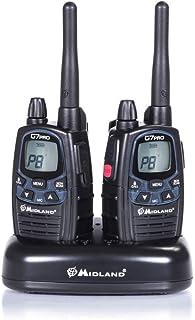 Midland G7 Pro PMR+LPD-Funkgerät C1090.06 Robustes Gerät f