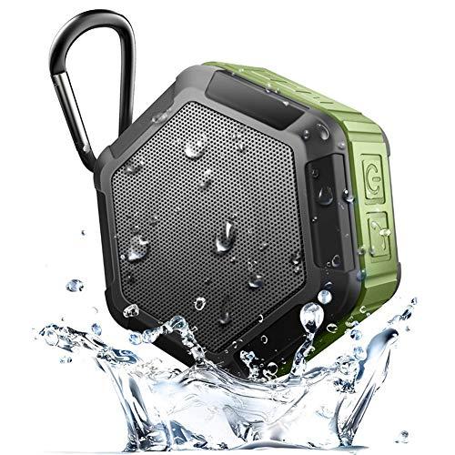 WYGC Speakers Altavoz Bluetooth IP65 Impermeable Mini Portátil Subwoofer Potente Al Aire Libre Inalámbrico Altavoz de la Bicicleta de Ducha para el Deporte al Aire Libre