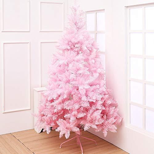 ZM-shu Arbol de Navidad 1,5/1,8/2,1 M Árbol De Navidad De Color Rosa...