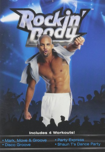 Beachbody Shaun T's Rockin' Body DVD Workout, Dance Workout DVDs, Exercise Videos, Dancing Fitness Guide for Beginners, Seniors, Easy To Follow, Low Impact, 5 Workouts Included