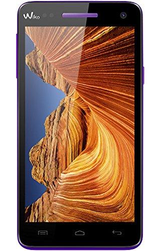 Wiko 9512 Rainbow Up Smartphone (12,7 cm (5 Zoll), HD IPS-Bildschirm, 1,3 GHz Quad-Core Prozessor, 8 Megapixel Kamera, 8GB interner Speicher, 1GB RAM, Android 5.0 Lollipop) weiß