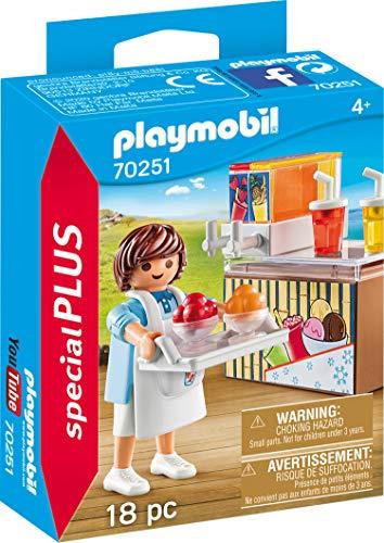 PLAYMOBIL Special Plus 70251 Slush-Ice Verkäufer, ab 4 Jahren