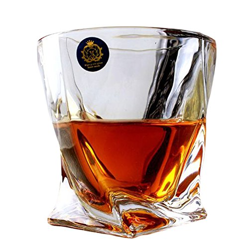 Design unique Transparent Whiskey Verre Coupe Wine Drinking Cup-A12