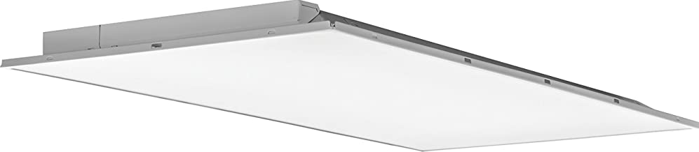 Lithonia Lighting 2ALT4 5000LM MVOLT DIM 2-Foot By 4-Foot Fully Luminous LED Lay-In Troffer Light with Smooth White Lens, White