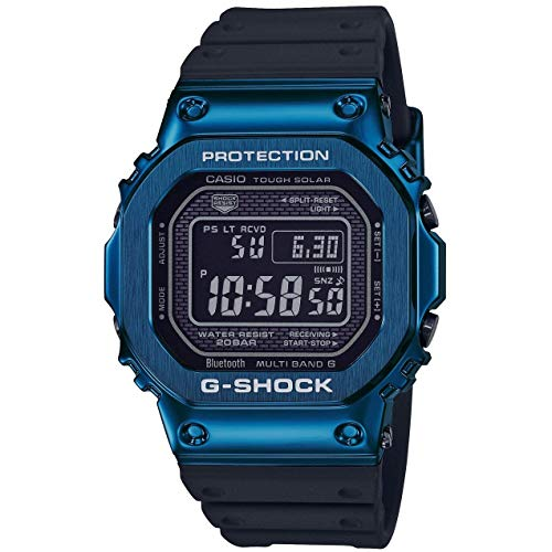 Men's Casio G-Shock Full Metal Digital Blue Watch GMWB5000G-2
