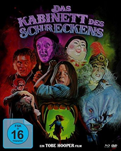Das Kabinett des Schreckens - Mediabook (+ DVD) (+ Bonus-DVD) [Blu-ray]