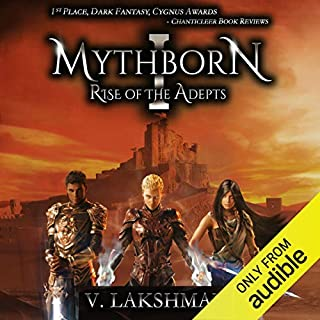 Page de couverture de Mythborn I: Rise of the Adepts