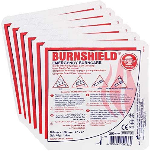 Burnshield 4' X 4' Burn Dressing, Sterile (Pack of 6)