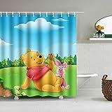 Rewe Home Badezimmer Duschvorhang,Winnie The Pooh Poster 60