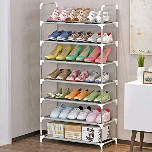 A-Generic Zapatero 4X Zapatos de Almacenamiento de Almacenamiento de Color translúcido para 4 Pares de Zapatos Utensilios en casa Polipropileno
