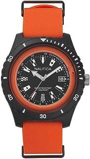 Nautica Men's NAPSRF Watch Orange