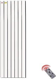 Radiador eléctrico MAHZONG Calentador de Pared, Temperatura Ajustable, Corte térmico Seguro - Blanco 950W