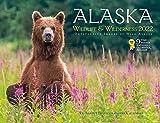 Alaska Wildlife and Wilderness Monthly Wall Calendar 2022