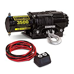 Champion 3500 lb. Synthetic Rope Winch Kit Review