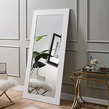 Naomi Home Mosaic Style Mirror White/61  x 31