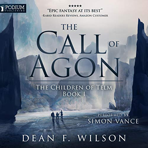 The Call of Agon audiobook cover art