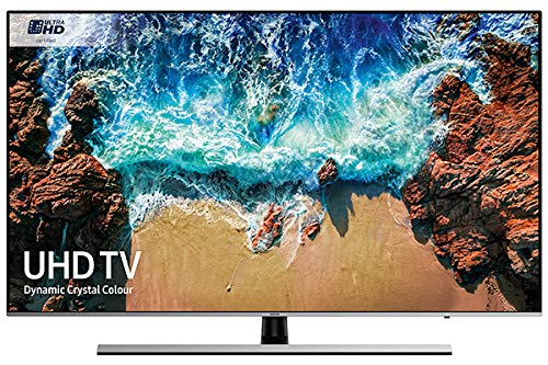 Samsung UE82NU8000 82-Inch Dynamic Crystal Colour 4K Ultra HD Certified HDR 1000 Smart TV - Black/Silver (2018 Model) [Energy Class A]