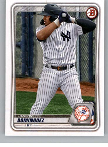 2020 Bowman Draft #BD-151 Jasson Dominguez New York Yankees Official MLB Baseball Trading Card From The Topps Company in Raw (NM Near Mint or Better) Condition