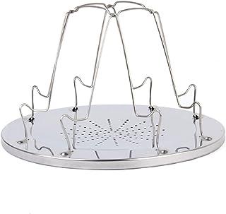 Oztrail tostadora de camping Tostadora de acero inoxidable para camping OCK-TSS-D Stainless steel Toaster Grill tostadora soporte unico