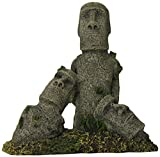 Blue Ribbon Pet Products ABLEE5647 Easter Island Statues Ornaments for Aquarium, Large