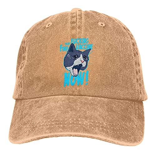 Encontrar esa vacuna de ahora sombrero gorra de béisbol sombreros de vaquero para hombre mujer sombrero de béisbol ajustable