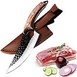 Coltelli da Cucina Coltello da Chef Professionali da 27cm - Forgiato a Mano - Estrema Affilato -...