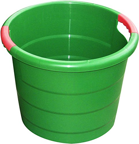 Garantia Universal - Rundbehälter (Eimer), 45 l Kunststoffbehälter, Ø 491 mm - sehr stabil und langlebig - 785001