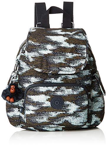 Kipling Damen City Pack Mini Rucksack, Mehrfarbig (Dynamic Dots), 27x29x14 Centimeters