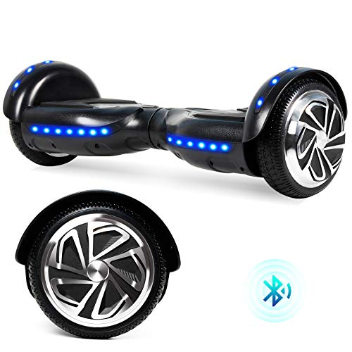 "SISIGAD Hoverboard 6.5"" Two-Wheel Self Balancing Hoverboard for Adult Kids Gift - Green(No Bluetooth)"