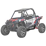 Super ATV Wrinkle Black HD Nerf Bars Polaris RZR 900/1000/Turbo/General